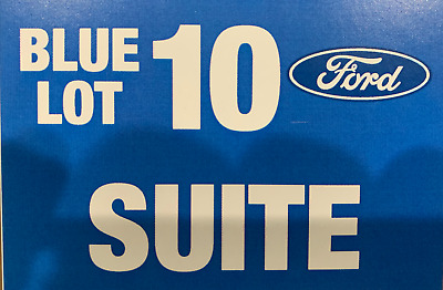 Dallas Cowboys SUITE Parking Pass vs Los Angeles Rams  December 15th, 2019.