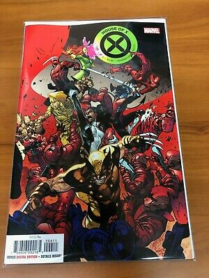 House Of X #4 Regular Pepe Larraz Cover A Marvel 2019 NM