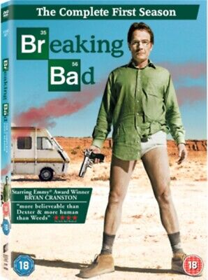 Breaking Bad - Series 1 - Complete (DVD 3 DISC BOX SET, 2008) *NEW/SEALED*