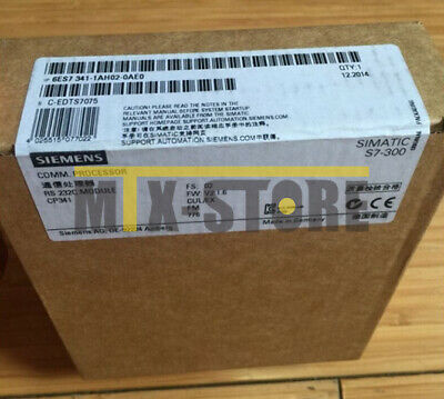 1PCS NEW Siemens 6ES7341-1AH02-0AE0