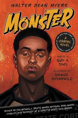 Monster - A Graphic Novel by Walter Dean Myers