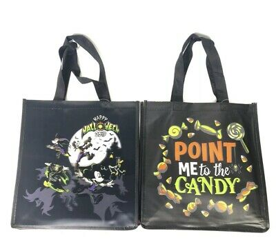 Disney Parks 2019 Happy Halloween Reusable Lenticular Tote Bag New