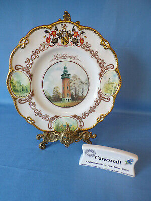 Caverswall Limited Edition The Loughbourgh Cabinet Plate No 53 of 500