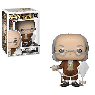 Benjamin Franklin POP Vinyl Figure #13 Funko Icons American History New