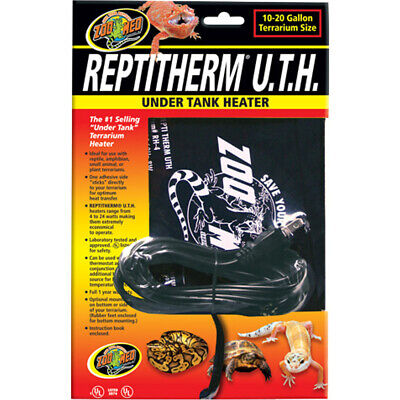 New Zoo Med Laboratories Reptitherm Under Tank Heater 4x5 Inch/4w