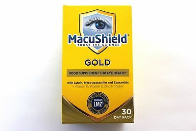 MacuShield GOLD Eye Health 30 Day Pack (90 Tablets)