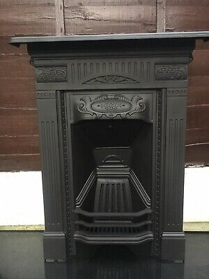 VICTORIAN/EDWARDIAN CAST IRON Living Room /bedroom FIREPLACE FREE DELIVERY
