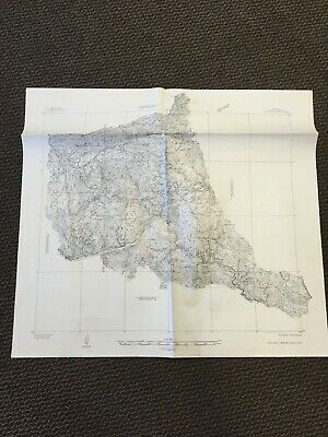 Vintage USGS Gold Hill Mining Area Boulder County Colorado 1931 Topographic Map