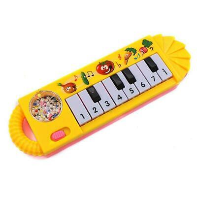 Electronic Musical Piano Keyboard Organ 8 Keys Children Instrument Toy Random .
