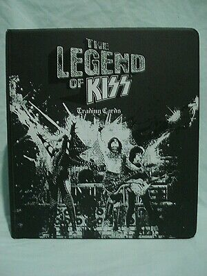 KISS The Legend of KISS trading card Binder - Press Pass - Gene Simmons