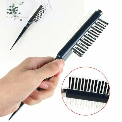 Volumia Style Comb -Instant Hair Volumizer Comb Sharks Back Combing Brush AU NEW