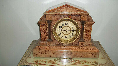 Fully & Properly Restored Seth Thomas Onyx Adamantine Mantel Clock, Model No.769