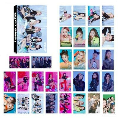 30PCS ITZY IT'Z ICY Album Photocards Yeji Lia Ryujin Chaeryeong Yuna Lomo Cards