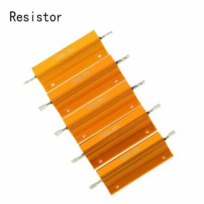 Ohm Electrical Appliance Resistance Shell Power Aluminum Housed Case Resistor