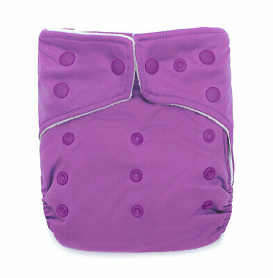 KaWaii Baby Ultra Soft Cloth Diaper Newborn to Toddler 8-36 lbs Waterproof