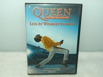 QUEEN-Live At Wembley Stadium 2 DVD Collection - VGC