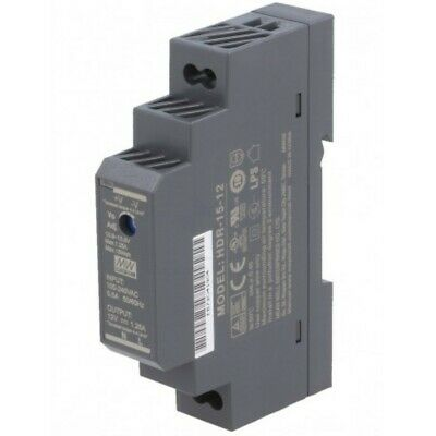 Alimentation Rail DIN 12 V 1,25 A - Mean Well