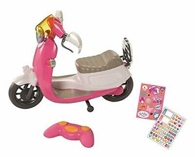Zapf Creation Baby Born Electronic City RC Scooter Toy Playset