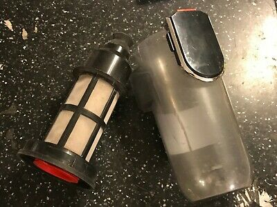 DUST COLLECTION TANK CANISTER & FILTER from BOSCH ATHLET 25.2V CORDLESS VACUUM