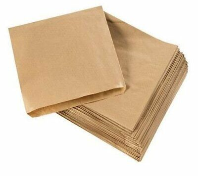STRONGHOLD BROWN KRAFT PAPER BAGS for FOOD USE