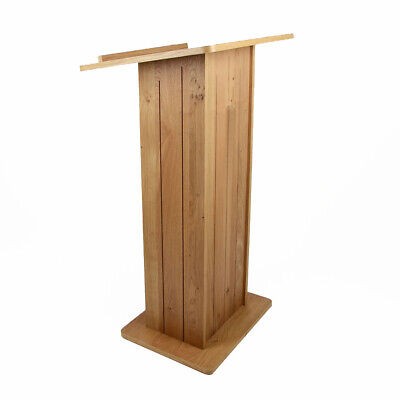 Traditional Wooden Lectern | Pulpit | Podium | Reading Platform - UK