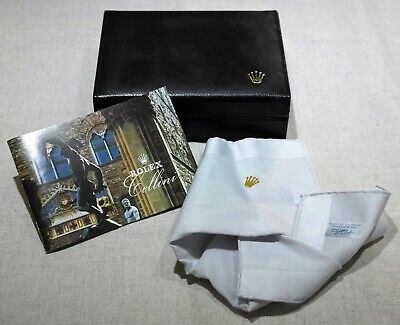 Rolex Vintage 1998 Cellini box with booklet and cloth like new