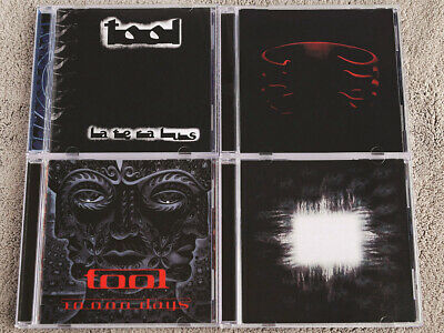 TOOL - Lateralus + Undertow + Aenima + 10,000 Days - 4 CD SET