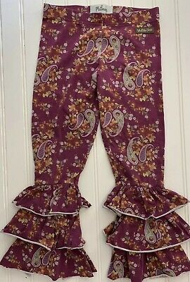 Matilda Jane Girls Floral Bennys Pants Size 6