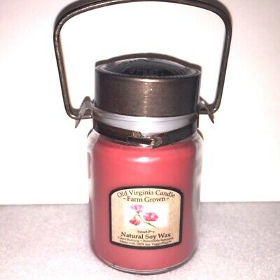 CANDLE OLD VIRGINIA CANDLE COMPANY SOY Never Burned - $4 99