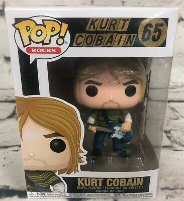 Funko Pop Rocks Kurt Cobain 65