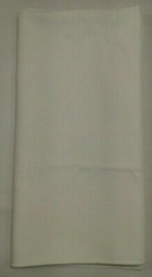 """Napkins cloth LOT of 12 dinner square 19""""x19"""" NEW  ivory natural ecru off-white"""