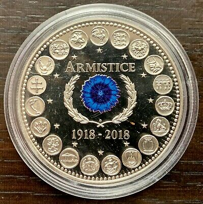 Medal 100 Years of L'Armistice - 1918-2018 - EUROPE of Xxvii - Test