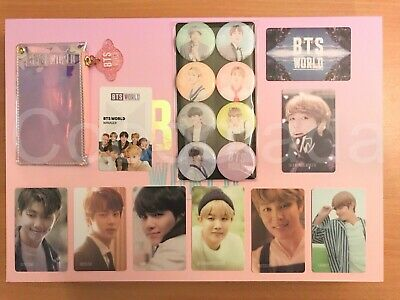 BTS World Limited Edition OFFICIAL Photocard / Magnet / Manager ID Card / Wallet