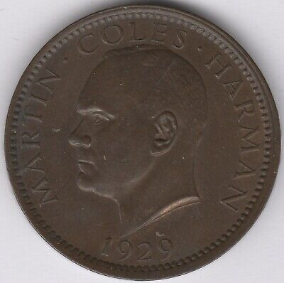 1929 Lundi Islands Martin Coles Harman One Puffin | Pennies2Pounds