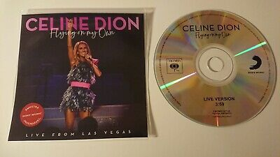 "Celine Dion ""Flying On My Own Live Version"" New Brazilian Cd Promo"
