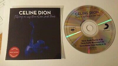 "Celine Dion ""Flying On My Own"" Remixes New Brazilian Cd Promo"