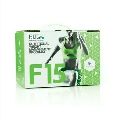 FOREVER F15 INTERMEDIATE/ Vanilla Weight loss & Fitness kits/ NEW/SEALED