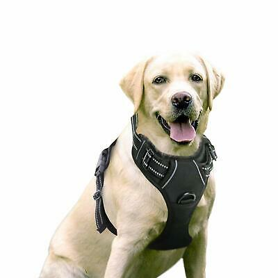 Pet Dog Harness NoPull Adjustable Outdoor Vest 3M Reflective Oxford Material