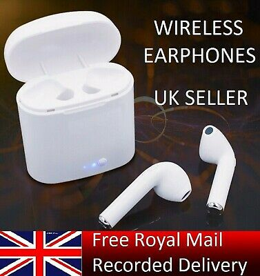 i7S TWS WIRELESS BLUETOOTH  EARPHONES For ALL SMARTPHONES SAMSUNG ANDROID