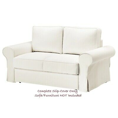 Pleasing Backabro Cover For Two Seater Sofa Bed Hylte White Gmtry Best Dining Table And Chair Ideas Images Gmtryco