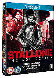 Sylvester Stallone Collection (Blu-ray, 2010, 3-Disc Set) Rambo First Blood