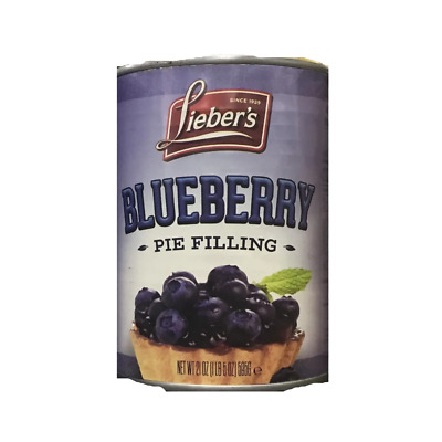 Liebers Blueberry Pie Filling 595G