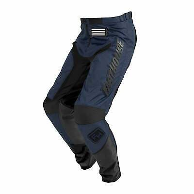 Fasthouse Grindhouse Boys Pants Moto - Navy Black All Sizes