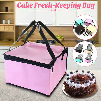 """6""""/8"""" Large Portable Cool Bag Insulated Cooler For Food Drink Lunch Picnic"""