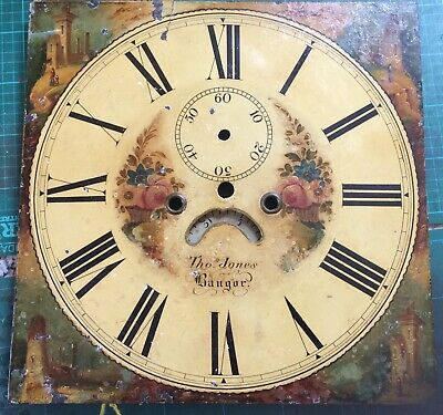 Longcase /Grandfather Clock Movement And Dial