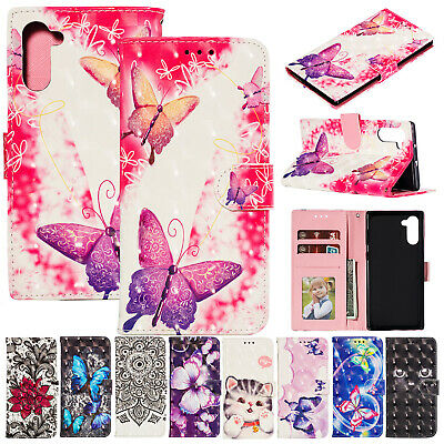 For Samsung Galaxy Note 10 Plus Case Magnetic Flip Leather Wallet Stand Cover