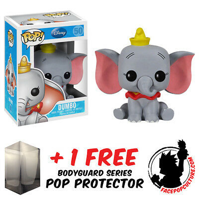 Funko Pop Disney Dumbo Vinyl Figure + Free Pop Protector