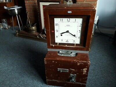 NATIONAL TIME RECORDER CO LTD CLOCK    clocking in clock