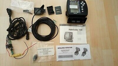 GARMIN FISHFINDER 100 With Wiring And Transducer. on