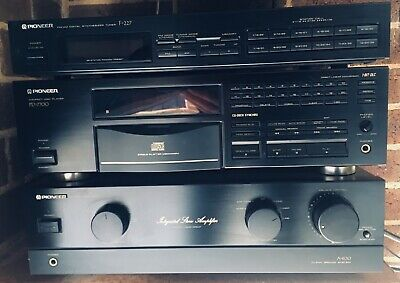 Pioneer Stereo Amplifier A- 400, AM-FM Tuner F-227, CD player PD-7700 Bargain